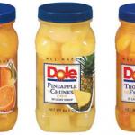 Walmart: Dole Jarred Fruit Only $1.68