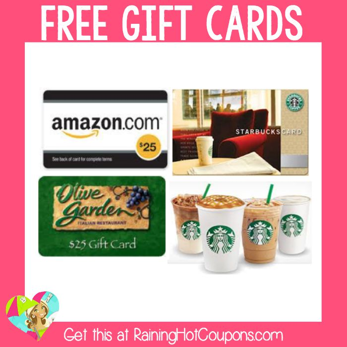 Hot E Poll Survey Openings Free Amazon Starbucks Olive Garden Gift Cards And More One Of