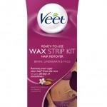 CVS: Veet Bikini, Underarm, & Face Wax Strip Kit, Hair Remover Only $1.99