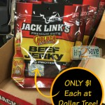 Bags of Jack Links Premium Cuts Beef Jerky ONLY $1.00!