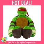 *HOT* Amazon: Nickelodeon Teenage Mutant Ninja Turtles Body Pillow ONLY $9.50!