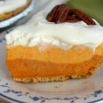 Triple Layer Pumpkin Spice Pie