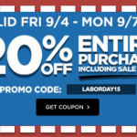 Michaels: 20% off Entire Purchase Coupon Including Sale Items (In-Store & Online)