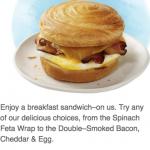 Starbucks: Possible FREE Breakfast Sandwich (Today or Tomorrow, Members Only)