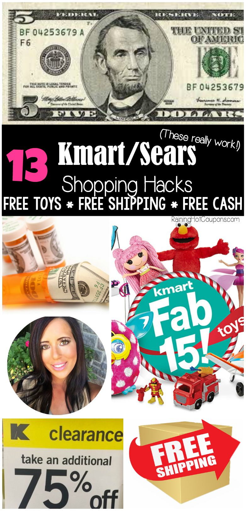 Sears free cash coupon