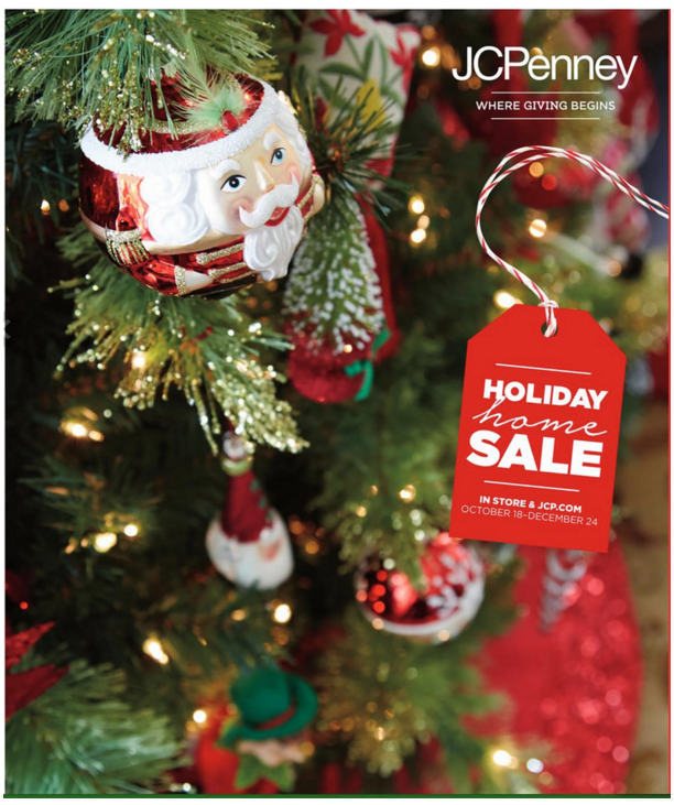 Jcpenneys Home Store: JCPenney 2015 Holiday Catalog