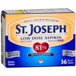 Walmart: St. Joseph Low Dose Aspirin Only $0.76