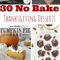 30 No Bake Desserts Perfect for Thanksgiving