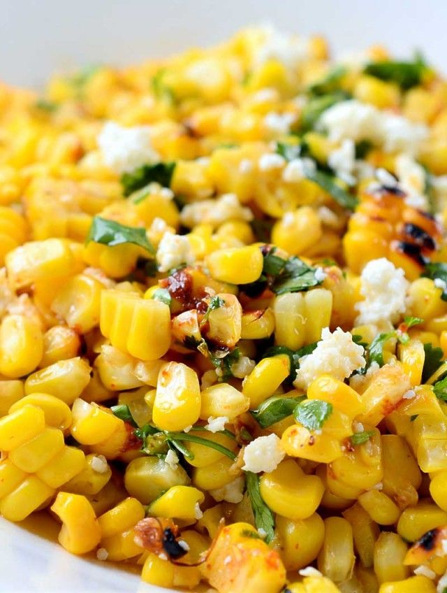 Chipotle Lime Grilled Corn