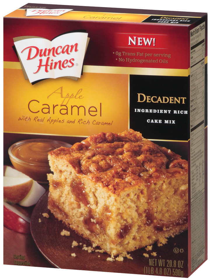 Duncan Hines Decadent Cake Mix Flavors