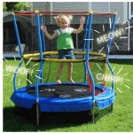 Skywalker Bounce-N-Learn 55″ Round Trampolines with Safety Enclosure Only $69 (Reg. $132) + FREE shipping!