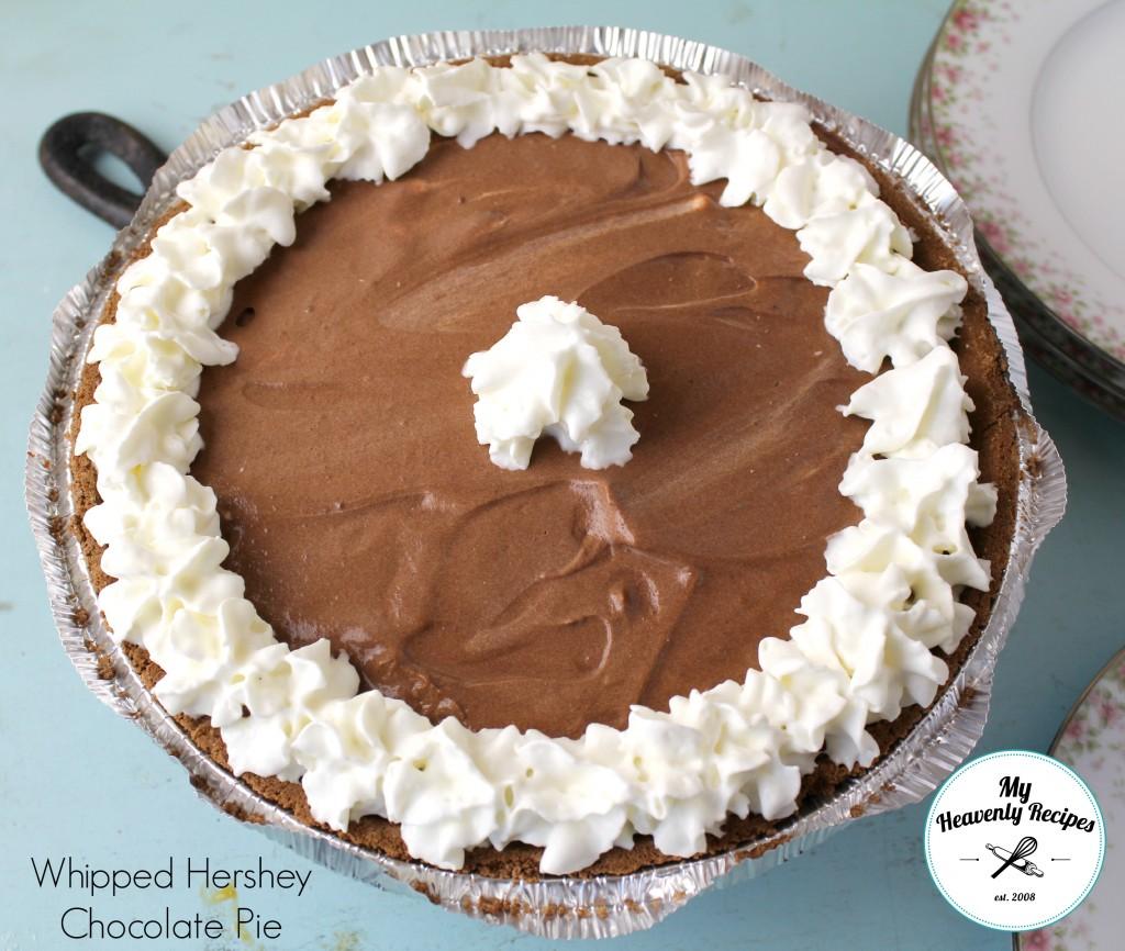 Whipped Hershey Chocolate Pie