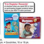 Walgreens: Huggies Diapers & Baby Wipes Only $5.49