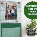 *HOT* FREE 8×11 Wall Calendar ($24.99 Value!)