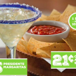 Chili's: *HOT* 21¢ Chips & Salsa AND $5 Margaritas (Today Only!)