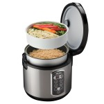 Aroma Professional 20-Cup Digital Rice Cooker, Food Steamer & Slow Cooker Only $24.99 (Reg. $49.99)!