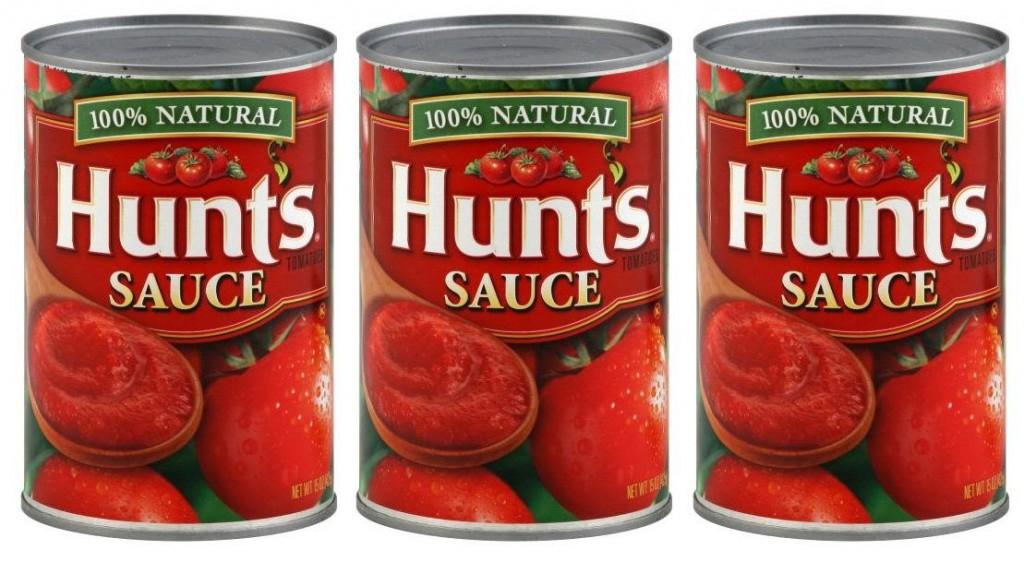 Hunts tomato sauce coupons