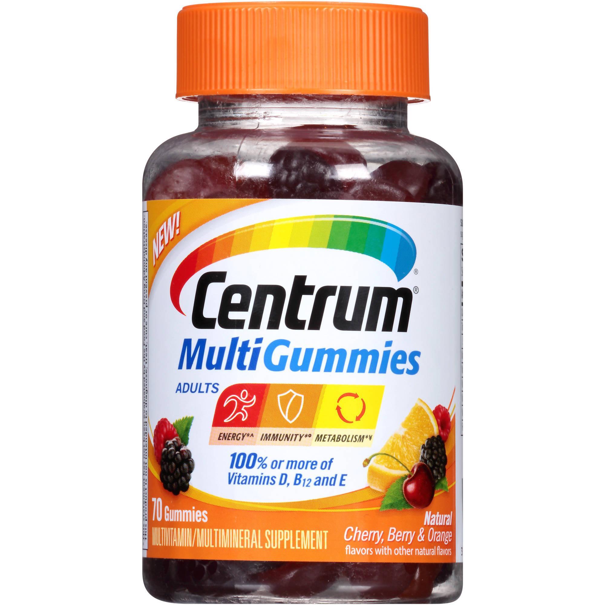cvs  centrum multigummies only  1 99