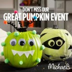 Michaels: Pumpkin Event – Decorate It FREE (Adults and Kids!)