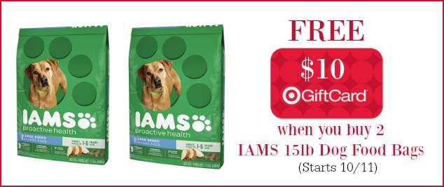 target-iams-dog-food-deal