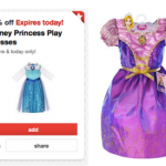 Target: *HOT* 50% Off Disney Princess Dresses = Elsa & Anna Dresses and more Only $7.50 (Today Only)