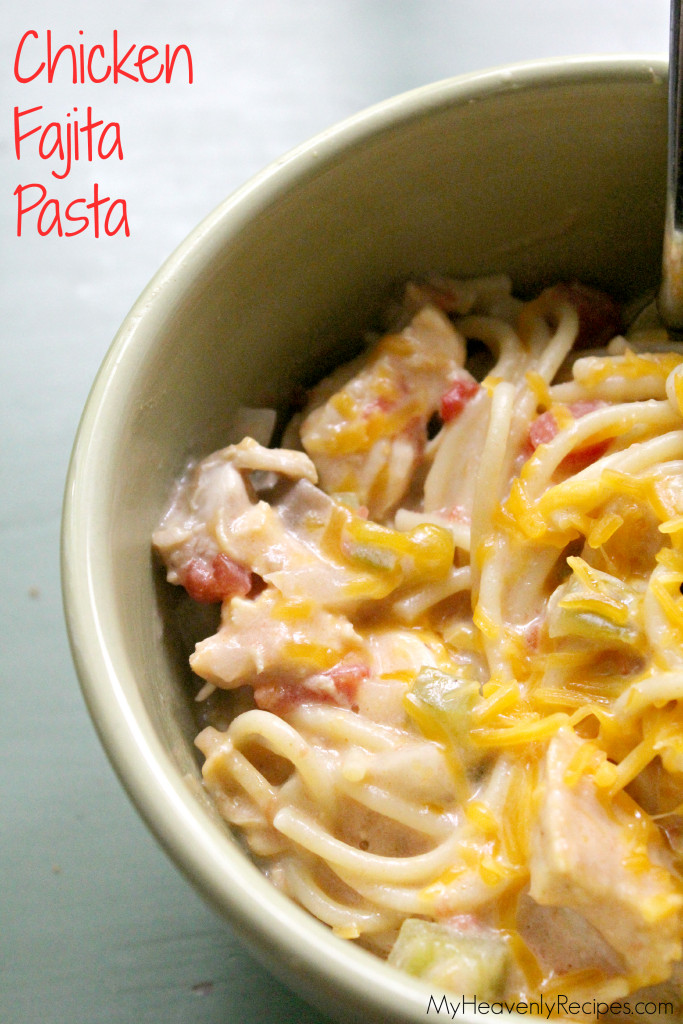 Chicken Fajita Pasta Recipe