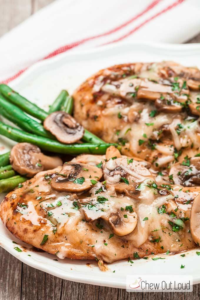 Chicken Maderia Cheesecake Copycat