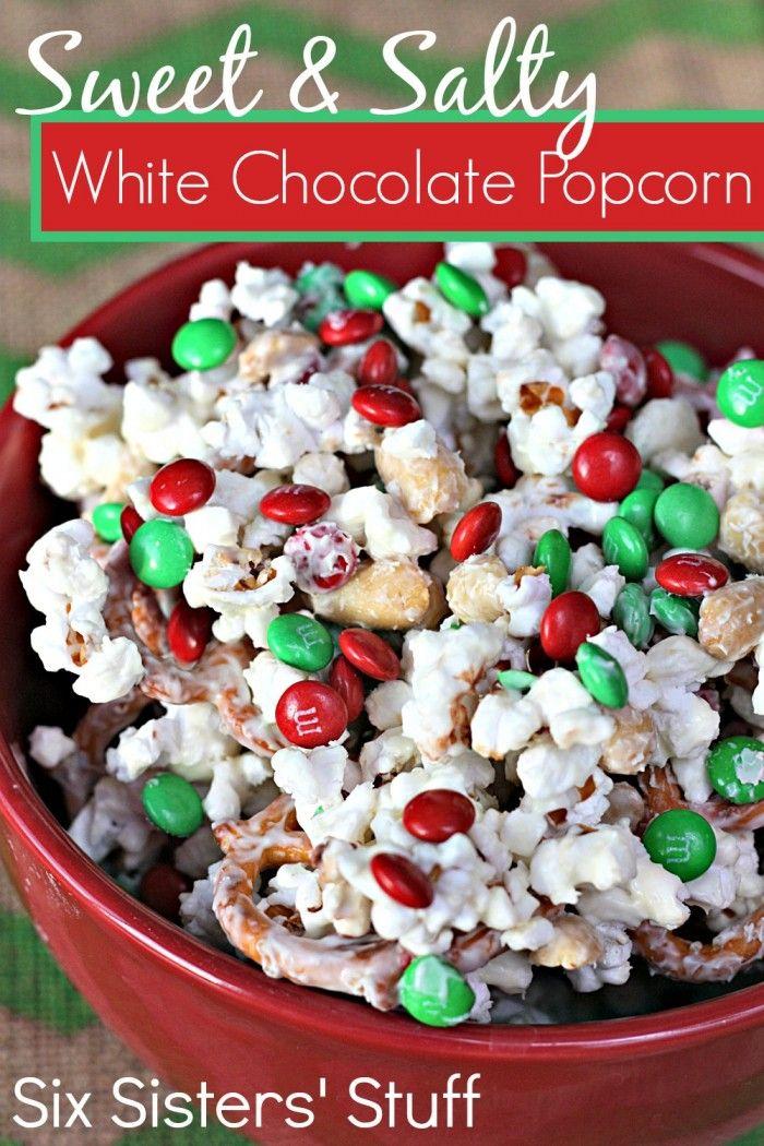 White Chocolate Cheesecake Popcorn