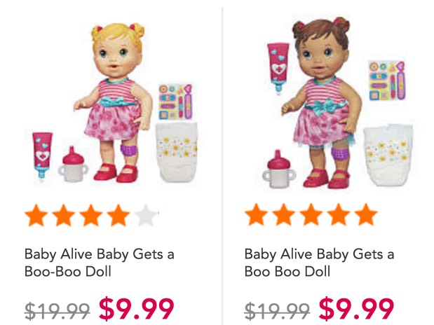 Baby Alive Baby Gets A Boo Boo Doll Only 9 99 Reg 19 99