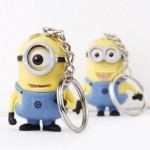 2 pack of Despicable Me 3D Minions Key Chains ONLY $2.79 + FREE Shipping!