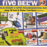 Five Below Black Friday Ad is Live!!! 2015