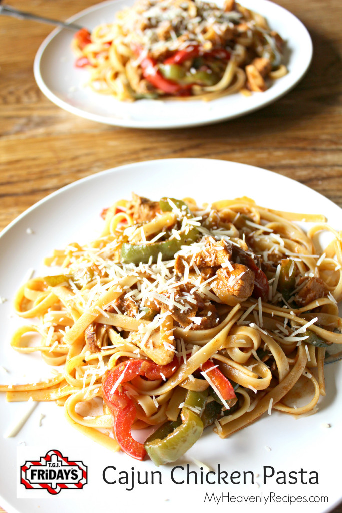 TGI Friday's Cajun Chicken Pasta