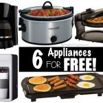 *HOT* Kohl's: 3 FREE Kitchen Appliances + Moneymaker + FREE Shipping (Crock Pot, Coffee Maker, Waffle Maker, Griddle $239.99 VALUE)