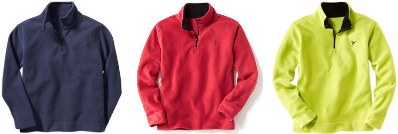 boys-performance-fleece-half-zip-pullovers
