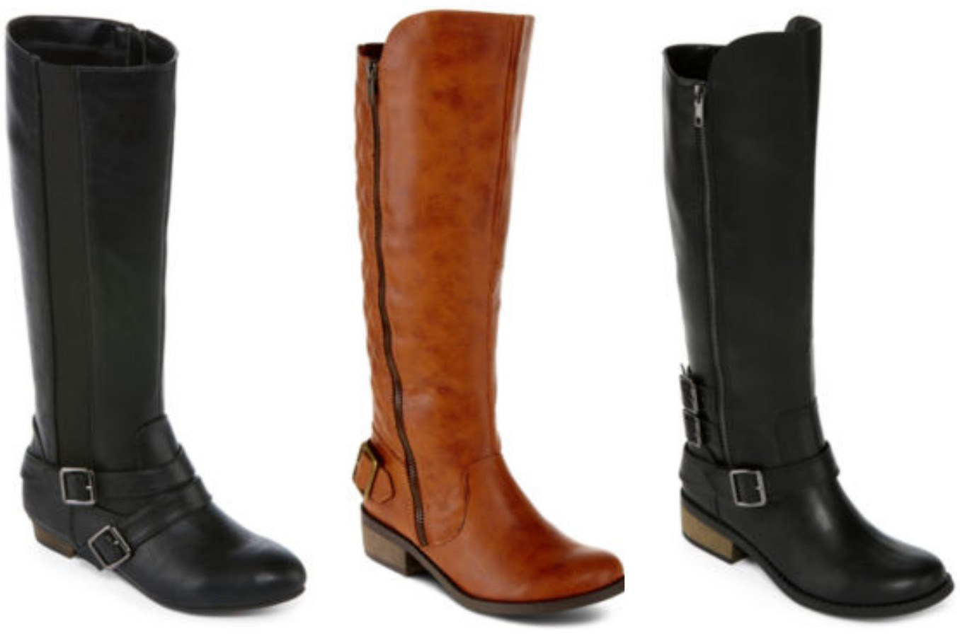 jcpenney women s boots only 15 99 reg 90 more