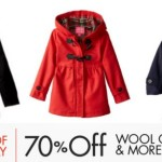 Amazon: 70% Off Wool Coats = Women's Hooded Peacoat Only $20.40 (Reg. $85, Today Only) + More