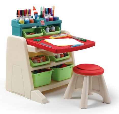 *HOT* Step2 Flip & Doodle Easel Desk with Stool ONLY $39.92 Shipped (Reg. $79.99)