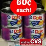 CVS: Dole Tropical Fruit Only $0.60