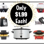 *HOT* Kohl's: 6 Kitchen Appliances ONLY $1.99 each ($239.99 VALUE) Popcorn Maker, Blender, Toaster, Can Opener, Panini and More!