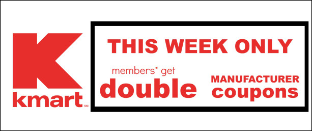 Kmart shop your way double coupons