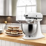 *HOT* KitchenAid Classic Plus 4.5-qt. Stand Mixer ONLY $105.49 Shipped (Reg. $299.99)! SILVER OR WHITE!!