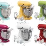 *HOT* KitchenAid Artisan 5-qt. Stand Mixer ONLY $187.49 (Reg. $349.99)