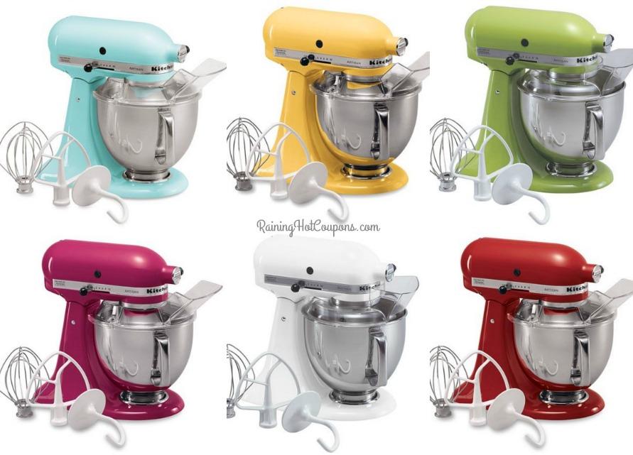 hot kitchenaid artisan 5 qt stand mixer only reg. Black Bedroom Furniture Sets. Home Design Ideas
