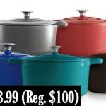 Kohl's: Food Network 5.5-qt. Enameled Cast-Iron Dutch Oven ONLY $33.99 (Reg. $99.99)