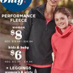 Old Navy: 2 Leggings, 4 Kid's Fleece, & 2 Women's Fleece Only $50 Shipped + $20 Super Cash (Today Only)