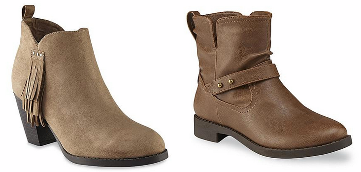 7a552d086973b Kmart: Buy One Get One for $1 Shoe Sale = Women's Boots Only $10.50