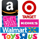 List of Store Deals for Several Popular Stores (Target, Walmart, Kohl's, Amazon)