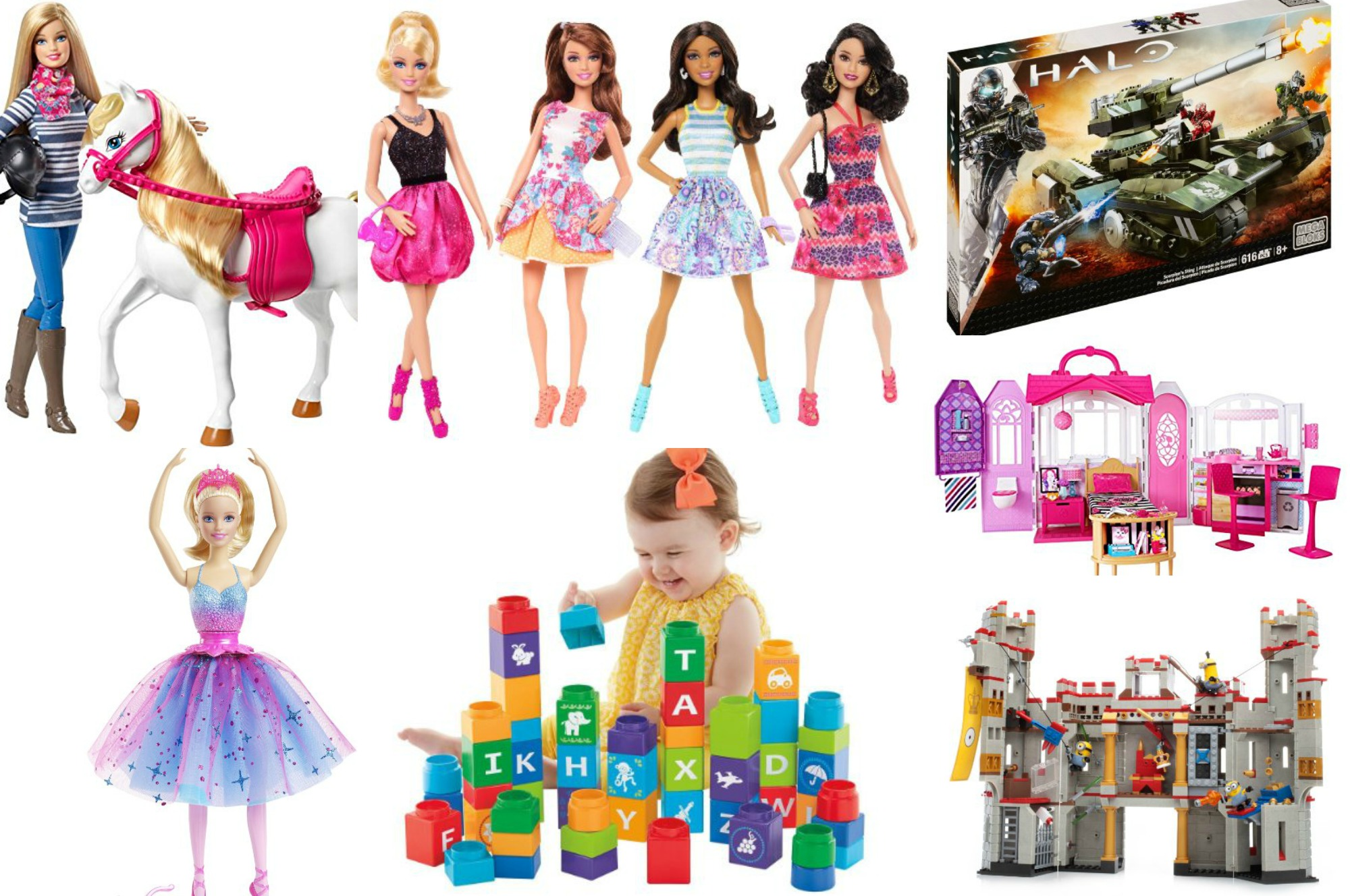 *HOT* 50% OFF TONS of Toys from Mattel AND Fisher Price!!!