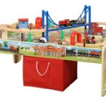 *HOT* 50-Piece Train Set with 2-in-1 Activity Table ONLY $37 (Reg. $60!)