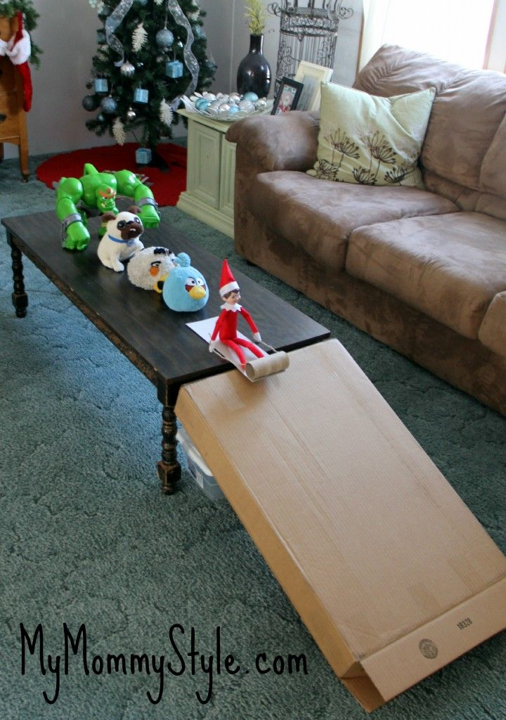 Elf on the shelf ideas 5